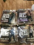 Mcfarlane-the Walking Dead Series 2-rick,shane,well Zombie,bicycle Zombie