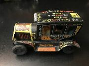 Rare 1950s Marx Tin Friction Minature 5x 3 Old Jalopy W Driver = Affordable