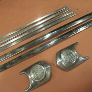 1952 Ford F6 Five 5 Star Badge Truck Hood Molding Stainless Trim Original