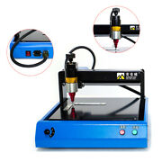 400w 110v Metal Cnc Electric Marking Machine Dot Peen 20x15cm For Number Letter