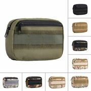 Canvas Tactical Pouch Waist Bag Belt Pack Organizer For Army Military Outdoors
