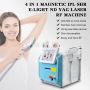 360 Magneto Fast Hair Removal Machine 1064and532and1320 Tattoo Faceandbody Rf Machine