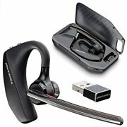 Plantronics Voyager 5200 Uc Smart Sensor Bluetooth Headset With Charging Case