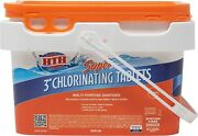 Hth Super 3 Inch Chlorinating Tablets 4 In 1 Pool Chemicals 25lbs - Ships 24h✅