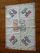 Antique Handmade Baby Quilt Lancaster County Pa