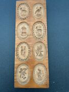 Antique Wooden Cookie Mold Gingerbread