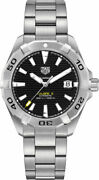 New Tag Heuer Aquaracer Automatic Black Dial 41mm Menand039s Watch Wbd2110.ba0928