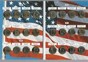 2007-2016 Presidential 1 Full 38 Coins All Coins Are Bu Complete Set