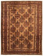 Hand-knotted Vintage Carpet 9and0398 X 12and0398 Traditional Tribal Wool Rug