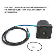 Outboard Tilt Trim Motor 64e‑43880‑00‑00 Replacement For Various Mode