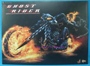 Perfect Hot Toys - Mms133 - 1/6 Ghost Rider And Hellcycle Action Figure In Stock