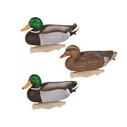 Flambeau Outdoors 8036suv Classic Floating Storm Front 2 Mallard Decoys 6 Pack