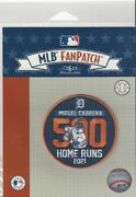2021 Miguel Cabrera 500 Home Runs Patch Detroit Tigers 3 Round Iron Or Sew On
