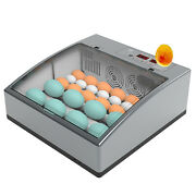 Egg Incubator 16/24 Eggs Fully Digital Automatic Hatcher For Hatching Chicken