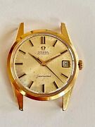 Omega Seamaster 18k-0.750 Pink Gold Vintage Automatic Watch Cal.562