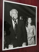 Kggallery Cary Grant Raquel Welch Mgm Grand Hotel Las Vegas Nv Real Press Photo