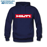 Hoodies And Sweatshirts Hilti Power Tools Men's S-3xl Ship From Usa