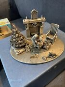 Vintage Fort Pewter .remembering Christmas Limited Edition New