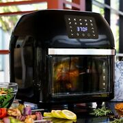 10-in-1 Family Size Air Fryer Countertop Oven, Rotisserie, Dehydrator