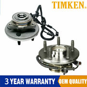 2x Timken Front Wheel Hub And Bearing Assembly For Ford Explorer Sp470200 4wd