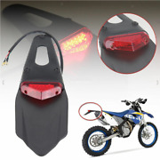 Road Sports Motorcycle Led Dual Rear Brake Stop Tail Lights