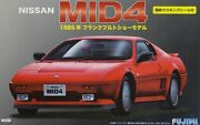 Fujimi 039039 - 1/24 Nissan Mid4 1985 With Window Frame Masking Seal - New