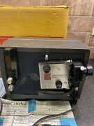 Kodak Instamatic M50 Movie Projector For Super 8 Movies With Reels Usa Made