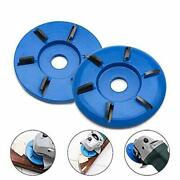 Six Teeth Power Wood Carving Disc Tool -woodworking Engraving 6-tooth Milling...