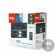 New Boss Audio Systems 850brgb Car Stereo Double Din / Bluetooth Audio And Calling