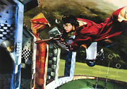 Jim Salvati Harry And The Golden Snitch Giclee On Paper