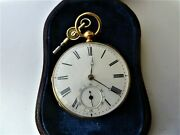 Fusee 18ct Pocket Watch. By Hardy. My Ref No 329..
