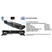 Cpp Front Rear Bumper Assembly For 2005-2012 Nissan Frontier