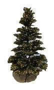 Balsam Hill Saratoga Spruce Artificial Clear Lights 7and039 Christmas Tree Open Box