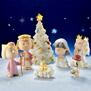 Lenox Peanuts Christmas Pageant Nativity Snoopy Charlie Brown New In Box