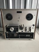 Akai X-200d Reel To Reel Custom Deck. Powers On But No Tape To Test Further.