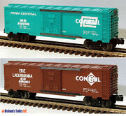 Lionel 6-21756 6464 Overstamped Boxcar Set 2-pack Conrail/el And Pc