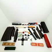 Vtg Lot 110+ Pcsatlas/tyco Ho Scale Mixed Track Brass + Engines Tankers And More