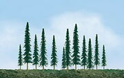 Jtt Scenery Products 92009 Z 1-2 Super Scenic Conifer Tree Pack Of 55