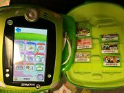 Leapfrog Leappad 2 Explorer Learning System 6 Games And Accessories Nm
