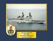 Uss Stump Dd-978 Custom Personalized Print Of Us Navy Ships Unique Gift Idea