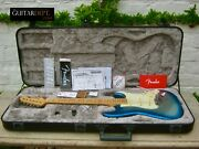 ♚immaculate♚2016 Fender American Elite Stratocaster Usa♚skyburst♚maple Cap♚ultra