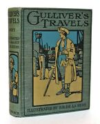 Gulliverand039s Travels By Jonathan Swift A And C Black Illustrated London 1916