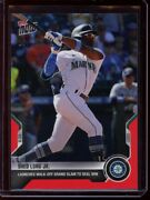2021 Topps Now 395 Shed Long Jr. Red Parallel Card D /10