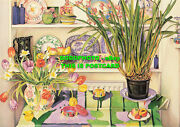 L161921 Still Life With Orchids. Nicola Gresswell. The Beacon Press. Summer Exhi