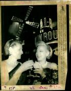 Margaret Mony And Florette Sely Owners Moulin Roug - Vintage Photograph 2260435