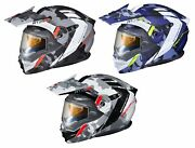 Scorpion Exo-at950 Cold Weather Outrigger Electric Lense Helmet Matte Gray All