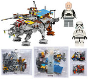 Lego 75157 Captain Rexand039s At-te - Sealed Bags 3 7 Parts Of 4 5 Wolffe Star Wars