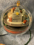 Hallmark Motion And Sound 1987 Morning Magic And 1989 Metro Express Ornaments Tested