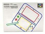 Nintendo 3ds Ll Super Famicom Edition Console Game With Ac Adapter Case Japan
