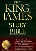 Holy Bible King James Version Study Bible Book The Fast Free Shipping